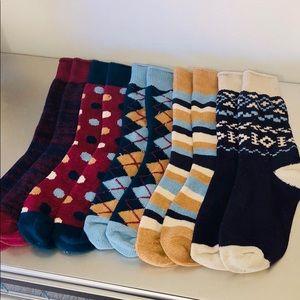 Super Soft Muk Luks Boot Socks Bundle